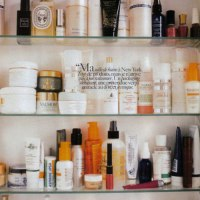 Sofia Coppola's Bathroom Cabinet