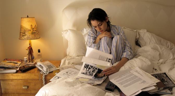 Winona Ryder's Bedside Table