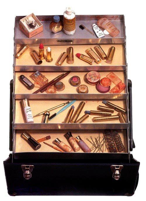 Marilyn Monroe's Vintage Makeup Case