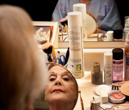 Angela Lansbury's Dressing Table