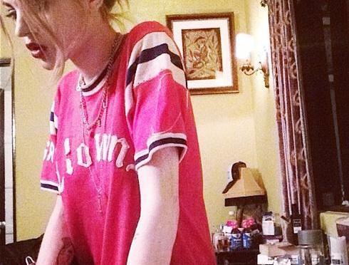 Frances Bean Cobain's Room