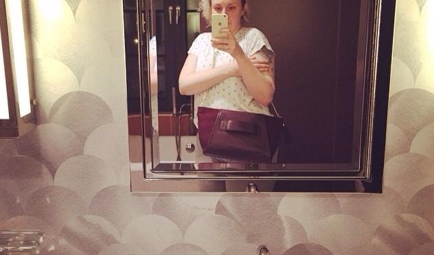 Lena Dunham's Bathroom