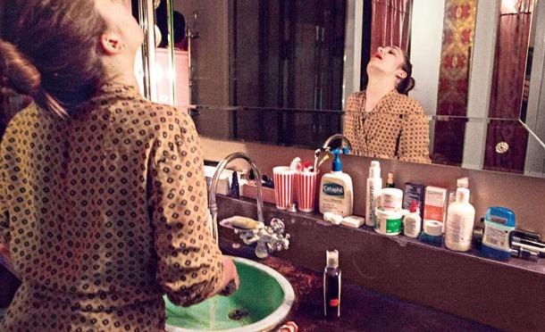 Jemima Kirke's Bathroom Shelf