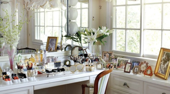 Elizabeth Taylor's Dressing Table
