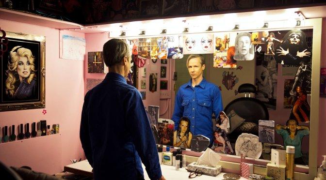 John Cameron Mitchell's Dressing Room