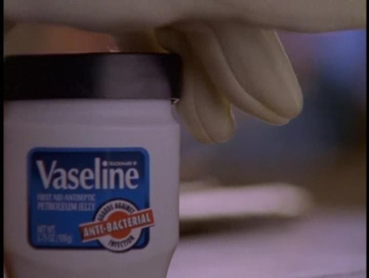 Sex and vaseline