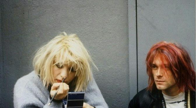 Courtney Love and Kurt Cobain for Sassy Magazine (April 1992)