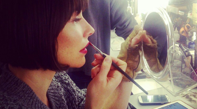 Evangeline Lilly's Dressing Table
