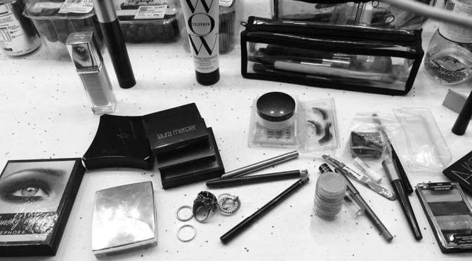 Shirley Manson's Dressing Table