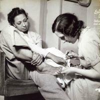 Josephine Baker's Pedicure