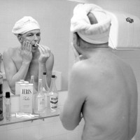 Frank Sinatra's Bathroom Shelf