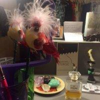 Gillian Anderson's Dressing Room