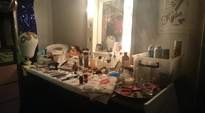 Kylie Minogue's Dressing Table
