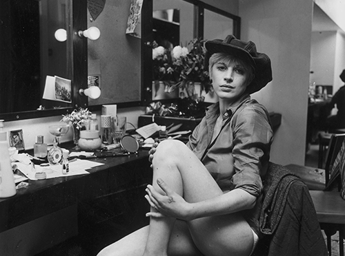 Marianne Faithfull's Dressing Table