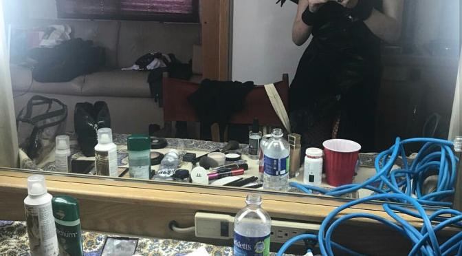 Shirley Manson's Dressing Room