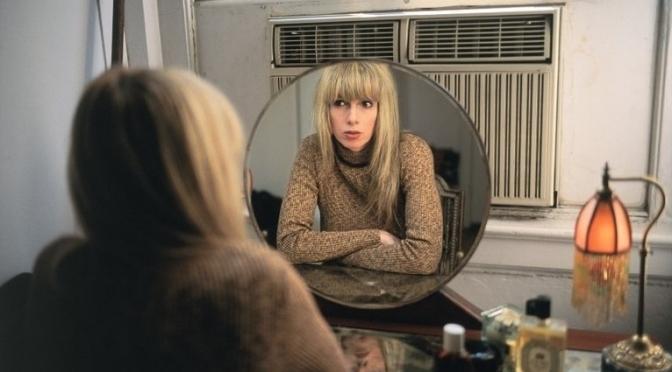 Joey in My Vanity Mirror, NYC 1999