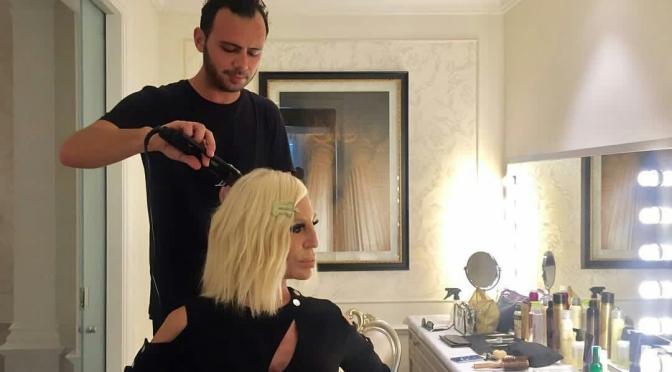Donatella Versace's Dressing Table