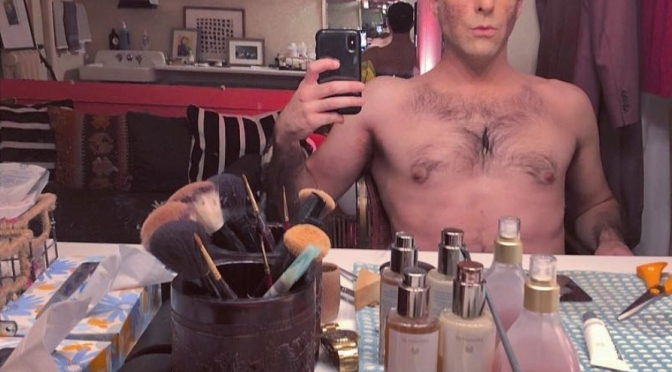 Zachary Quinto's Dressing Room