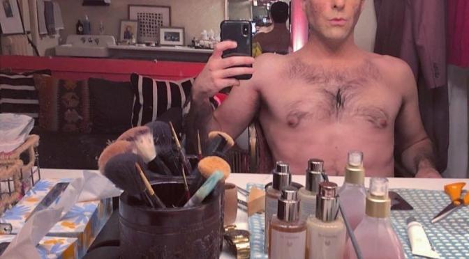 Zachary Quinto's Dressing Room