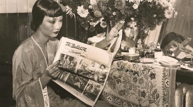 Anna May Wong's Dressing Table