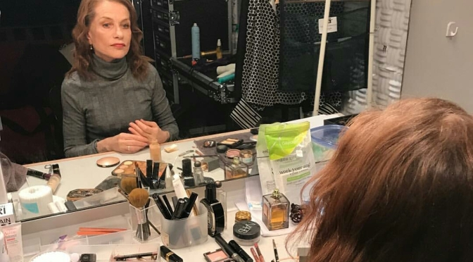 Isabelle Huppert's Dressing Room