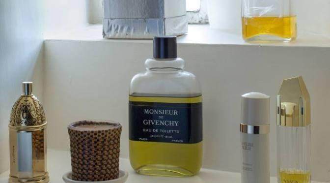 Hubert de Givenchy's Perfume Corner